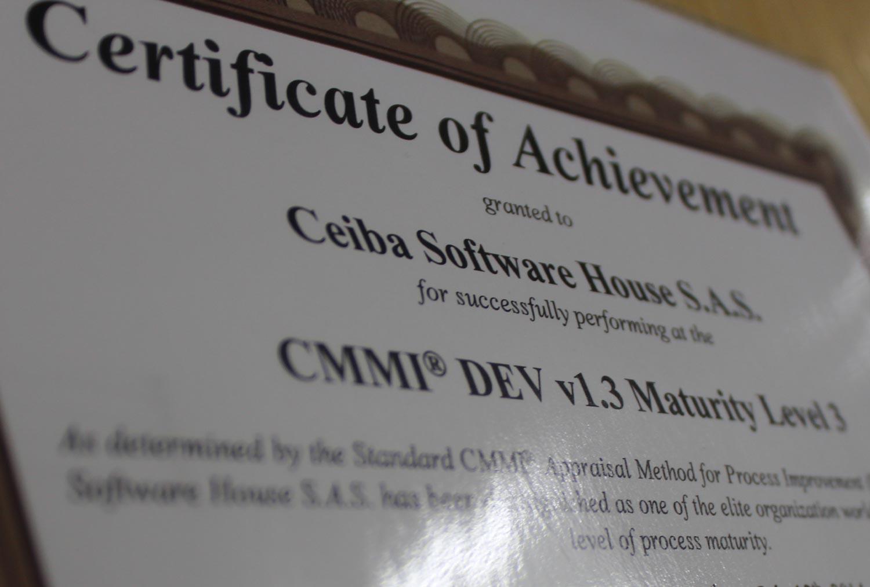 Implementando CMMI en Ceiba